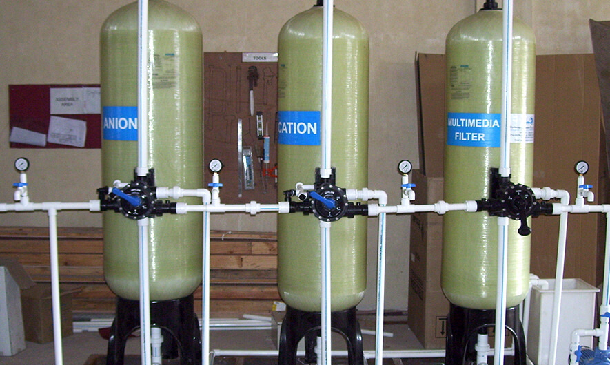 Demineralization (DM) water treatment Plant