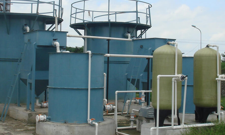 Effluent Treatment Plant (ETP) waste water treatment method