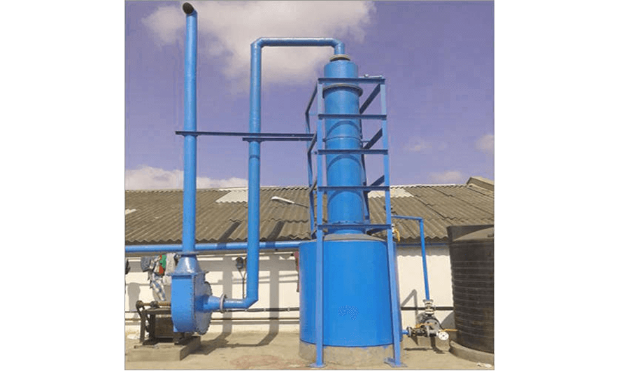 chemical scrubbers, gas scrubbers